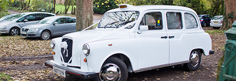 The White Wedding Taxi Gallery