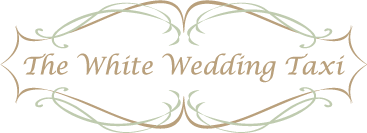 The White Wedding Taxi Logo